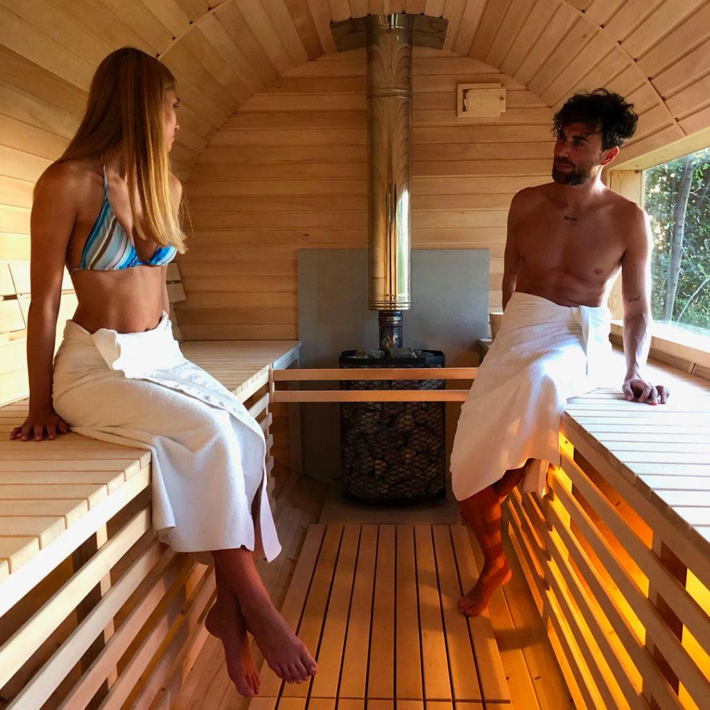 Sauna Finlandese - Castello di Granarola - Natural Spa